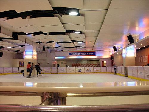 上海のスケートリンクその1:冠军溜冰场(Chanpion Rink)