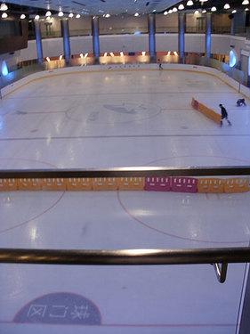 上海のスケートリンクその2:世紀星滑冰倶楽部(Century Star Skating Club)